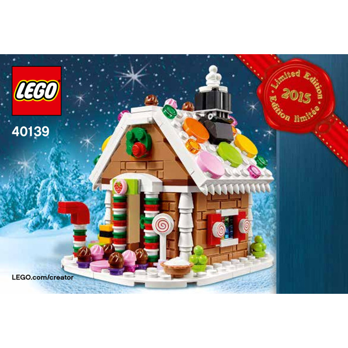 Lego Gingerbread House Set 40139 Instructions Brick Owl Lego