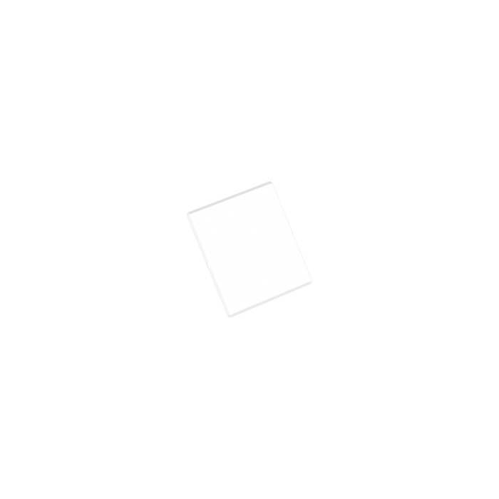 LEGO 3 X PARABREZZA CHIARO Trans-Clear Glass Window 11 STRIPES 4x4x3 ROOF 4448p02