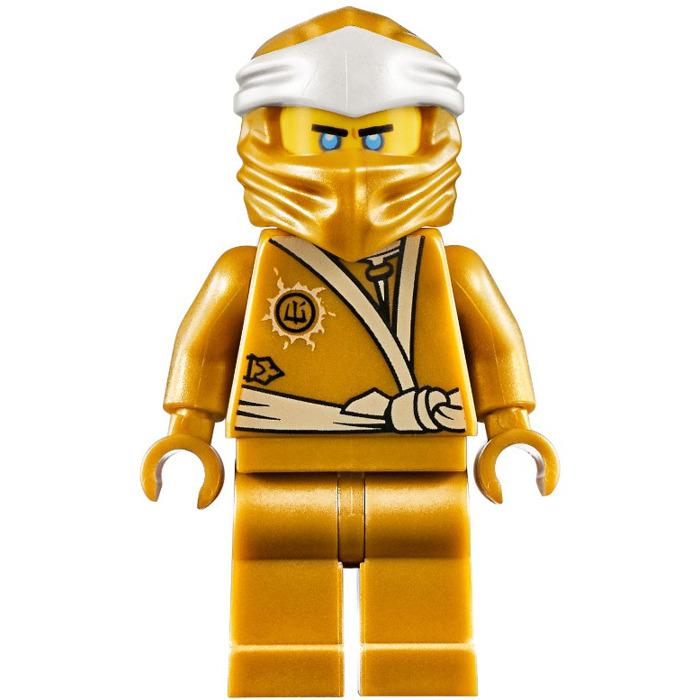 LEGO Golden Zane Minifigure | Brick Owl - LEGO Marketplace