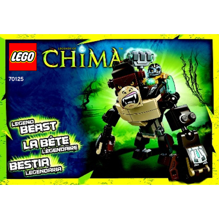 LEGO Gorilla Legend Beast Set 70125 Instructions | Brick Owl ...