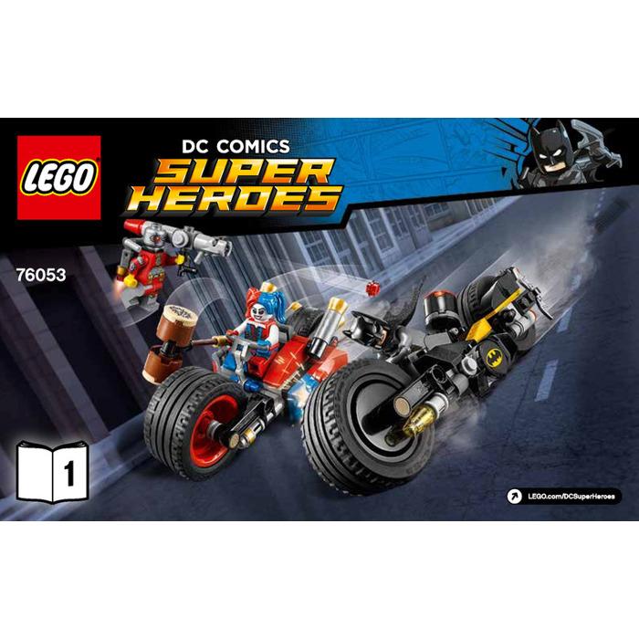 Lego Gotham City Cycle Chase Set 76053 Instructions Brick Owl