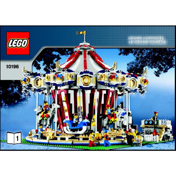 Lego Grand Carousel Set 10196 Instructions Brick Owl Lego