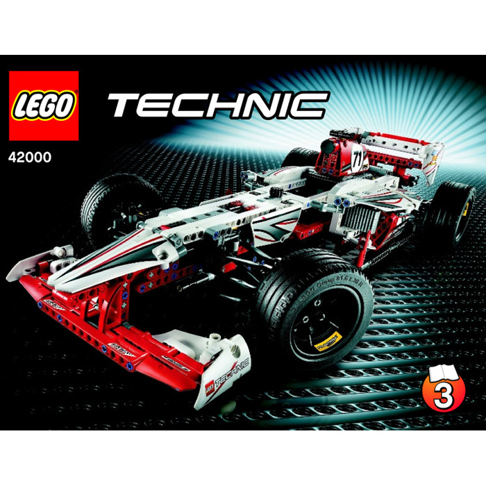 lego grand prix racer set 42000 instructions brick owl lego marketplace. Black Bedroom Furniture Sets. Home Design Ideas