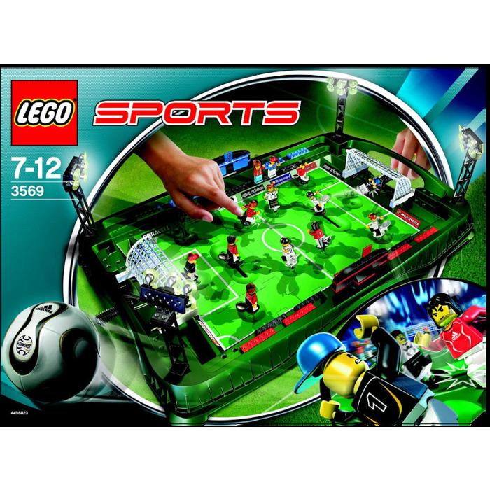 Lego Grand Soccer Stadium Set 3569 Instructions Brick Owl Lego