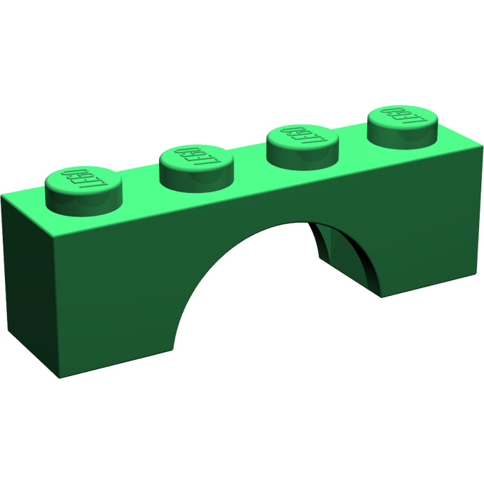 Lego 6x White Brick Arch 1x4 NEW! 3659