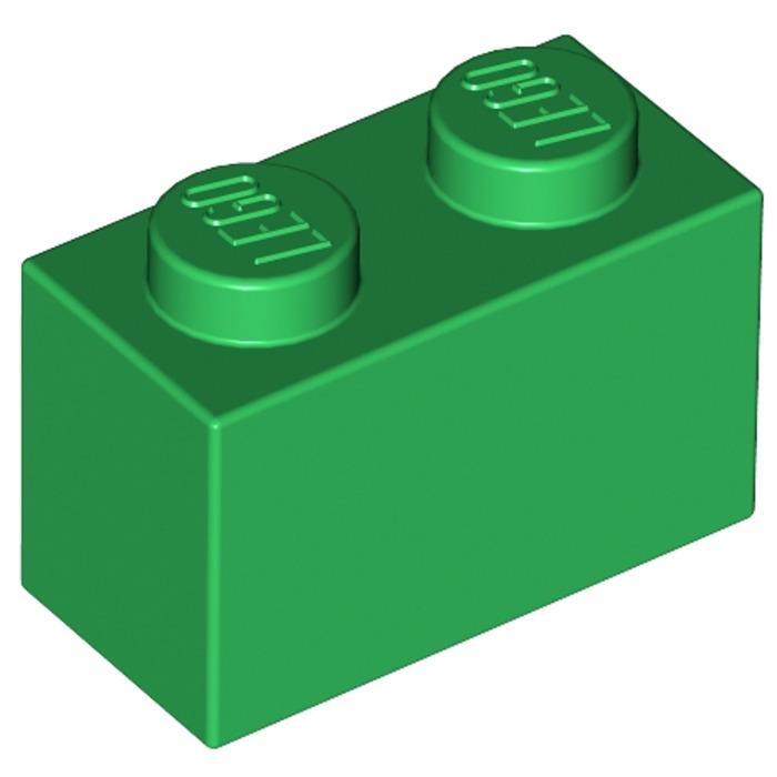 Bright Giallo 10 x lego 3004 Mattoncini Gialla Brick 1x2 Nuovo New
