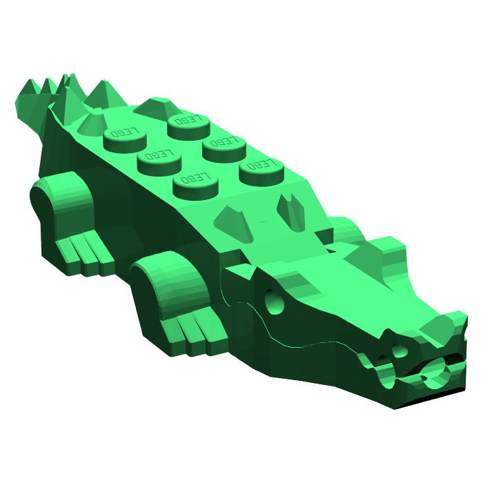 Лего крокодил картинки