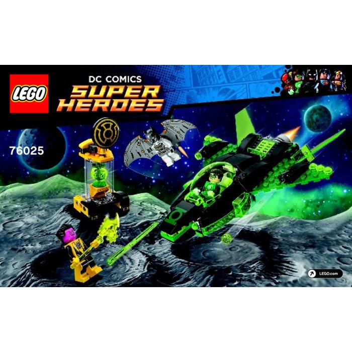 LEGO Green Lantern vs. Sinestro Set 76025 Instructions ...