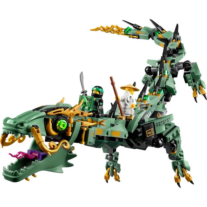 Lego Green Ninja Mech Dragon Set 70612 Brick Owl Lego Marketplace