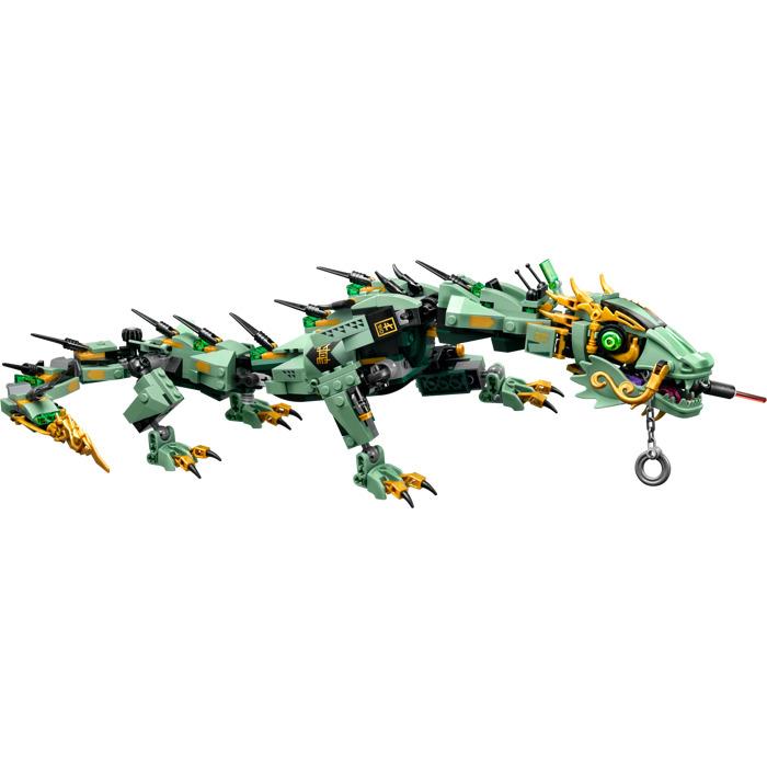 Lego green ninja mech dragon set 70612 brick owl lego marketplace - Dragon ninjago lego ...