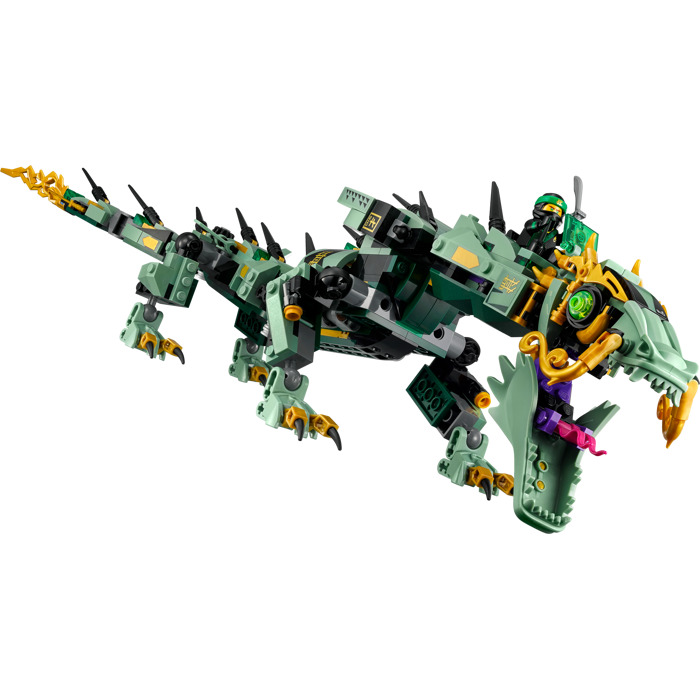 lego green ninja mech dragon set 70612 brick owl lego marketplace. Black Bedroom Furniture Sets. Home Design Ideas