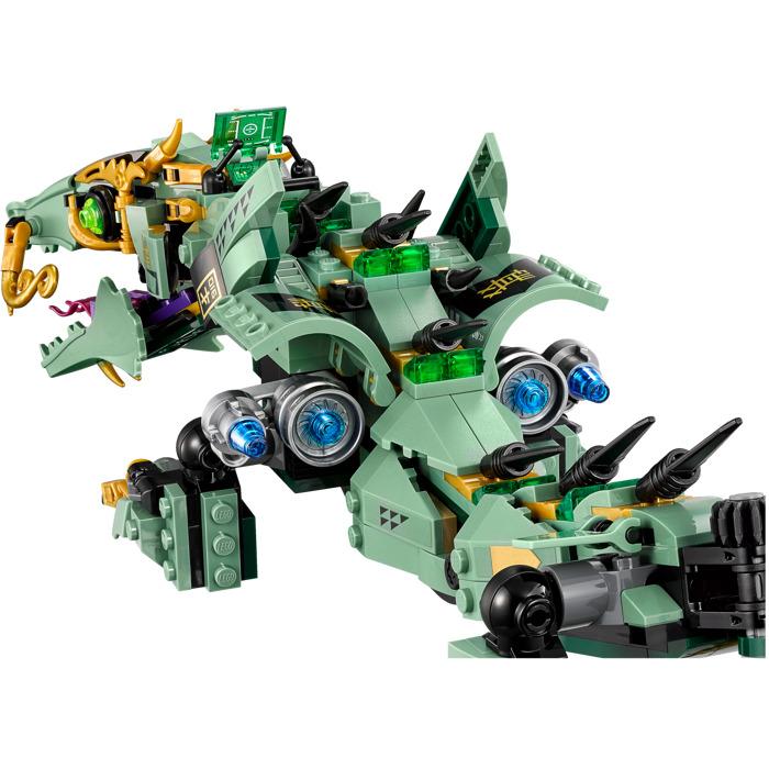 Green Ninja Mech Dragon Lego 70612 Building Kit