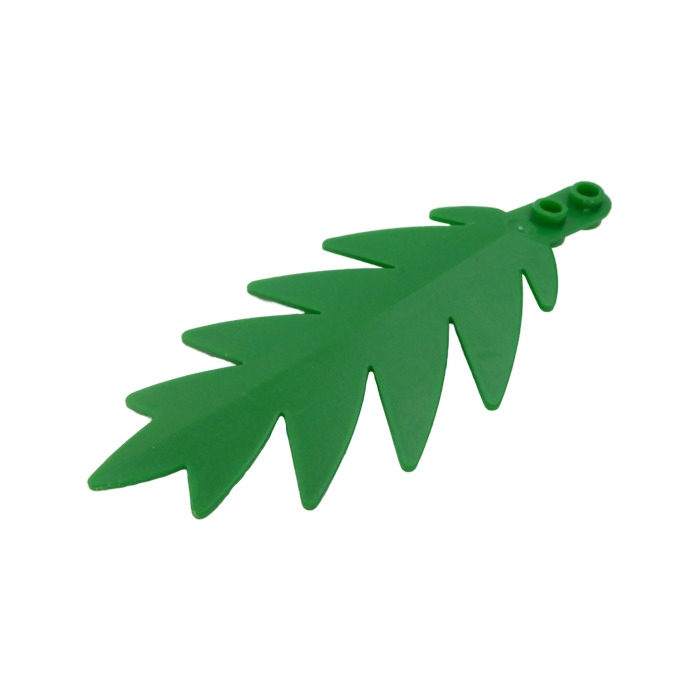 Tree Palm Leaf LEGO 1 Green Plant Part 2518 Set 6292 6270 Large 10x6 Studs