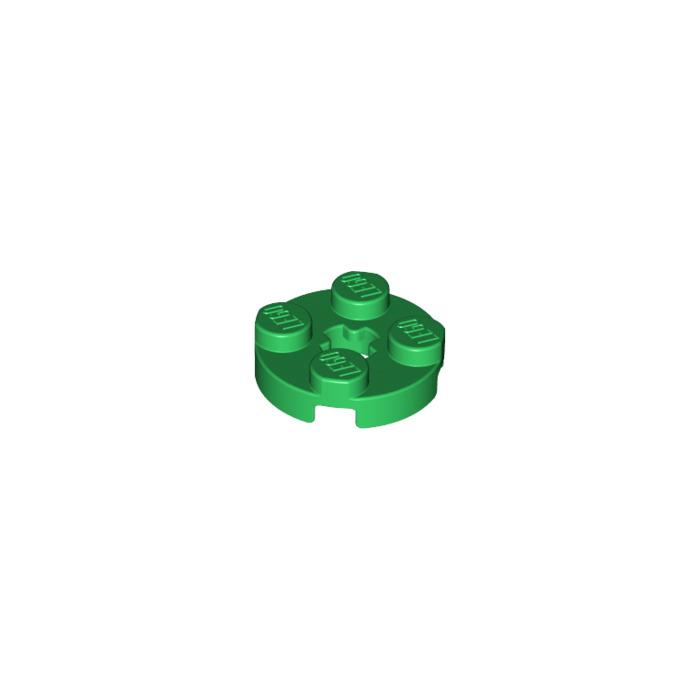 LEGO 10 rundplatte avec axe trou 2x2 noir plaque 4032