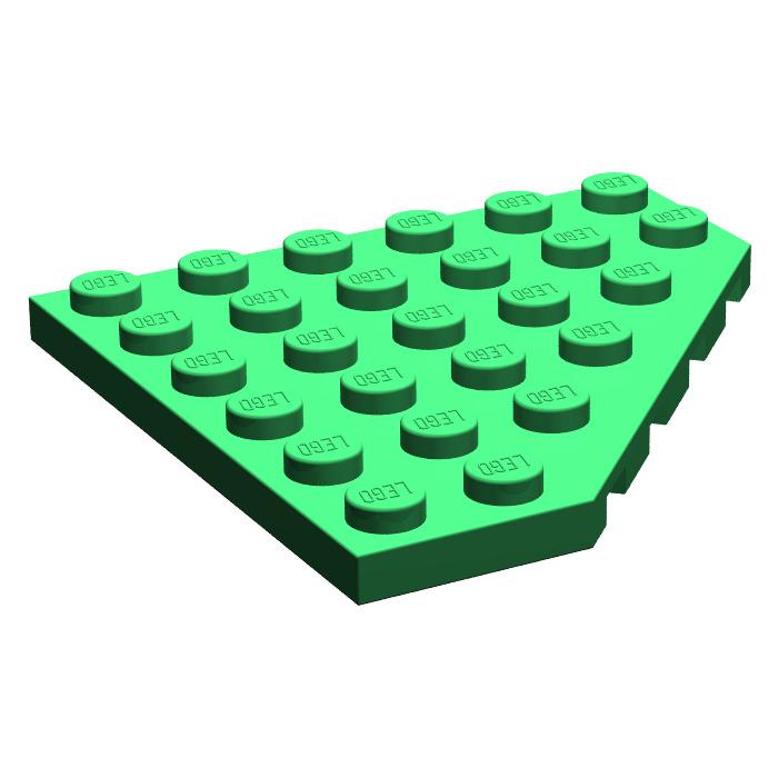 LEGO 2 6x6 Green Plate