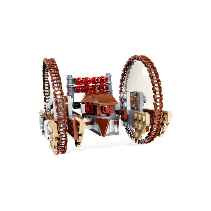 Lego hailfire droid spider droid set 7670 brick owl - Lego star wars vaisseau droide ...