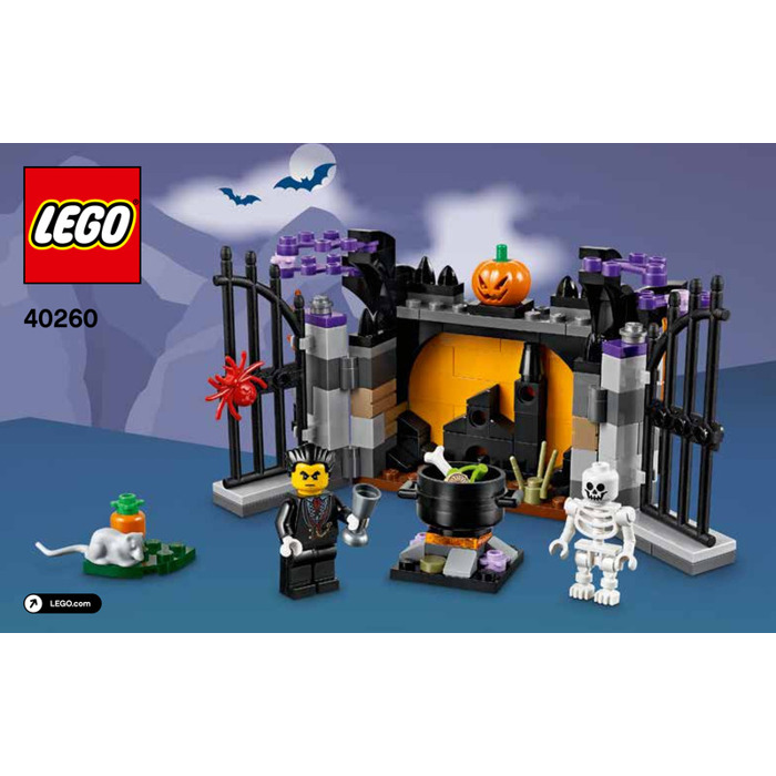 LEGO Halloween Haunt Set 40260 Instructions | Brick Owl - LEGO ...