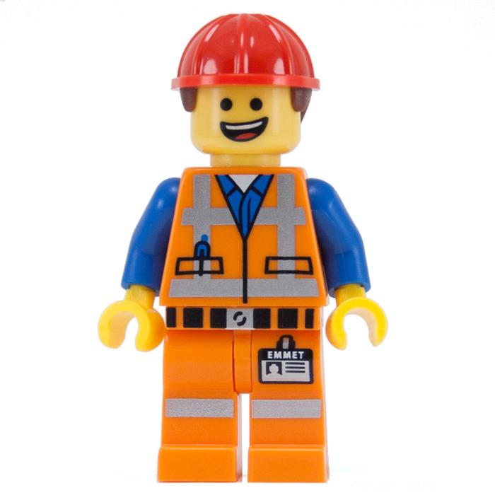 LEGO Hard Hat Emmet Minifigure   Brick Owl - LEGO Marketplace  LEGO Hard Hat E...
