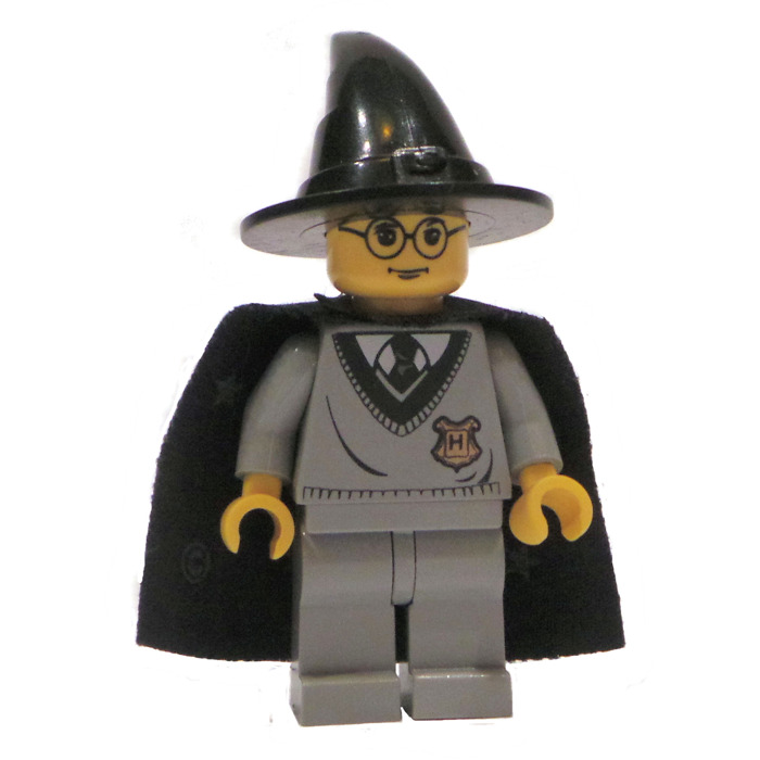 LEGO Harry Potter in Light Gray Gryffindor uniform and Wizard hat Minifigure  sc 1 st  Brick Owl & LEGO Harry Potter in Light Gray Gryffindor uniform and Wizard hat ...