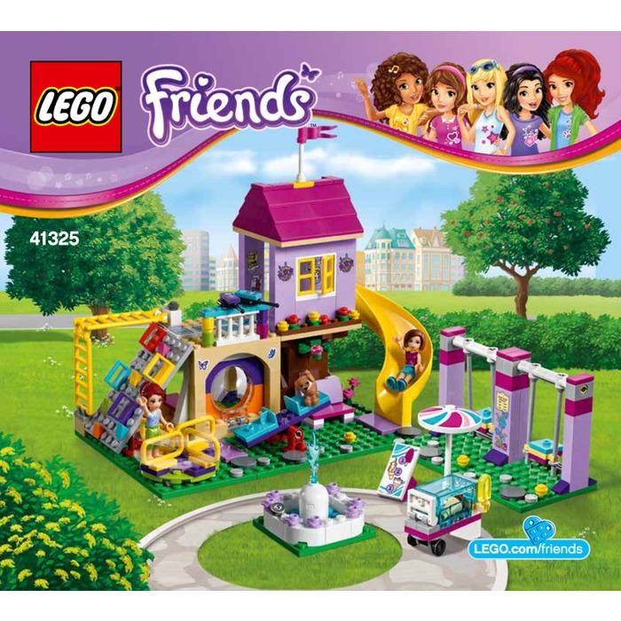 Lego Heartlake City Playground Set 41325 Instructions Brick Owl