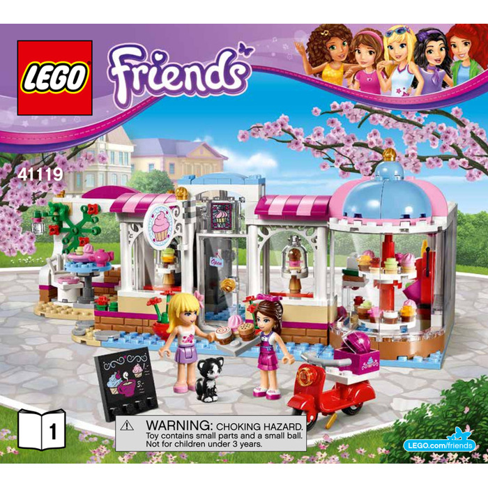 Lego Heartlake Cupcake Cafe Set 41119 Instructions Brick Owl