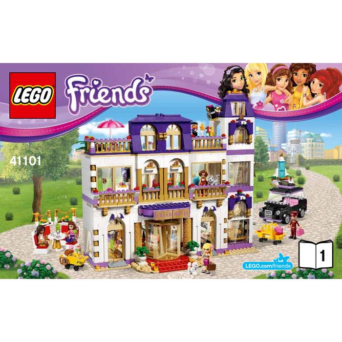 Lego Heartlake Grand Hotel Set 41101 Instructions Brick Owl Lego