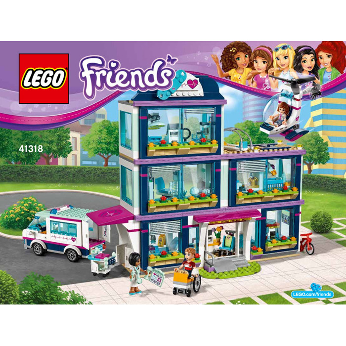 Lego Heartlake Hospital Set 41318 Instructions Brick Owl Lego