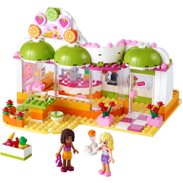 lego friends juice bar instructions