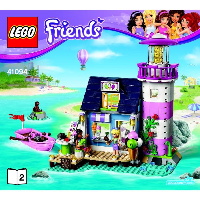 Lego Heartlake Lighthouse Set 41094 Instructions Brick Owl Lego
