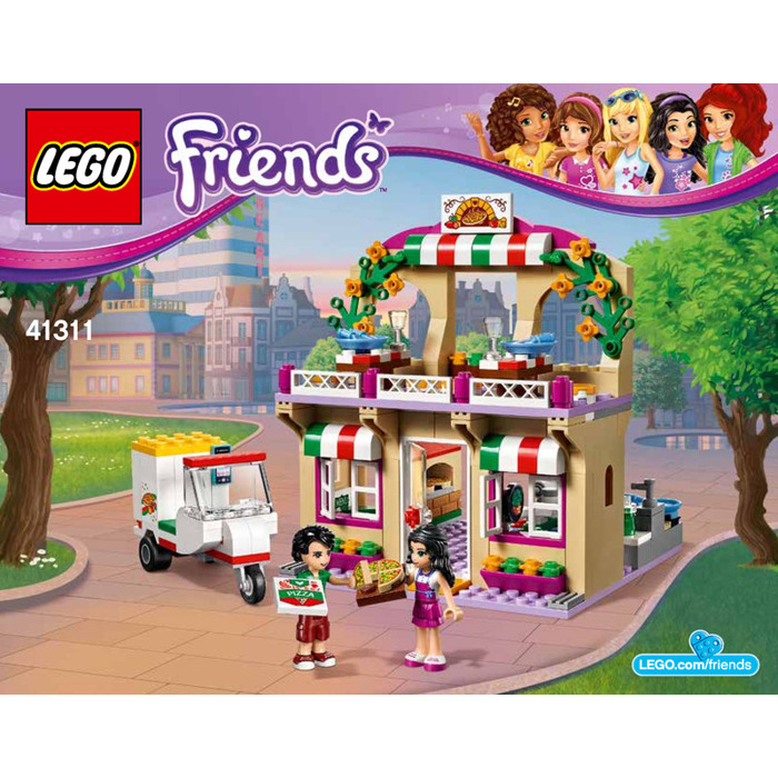 Lego Heartlake Pizzeria Set 41311 Instructions Brick Owl Lego