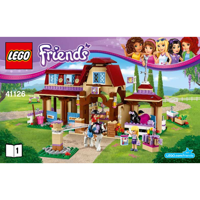 Lego Heartlake Riding Club Set 41126 Instructions Brick Owl Lego
