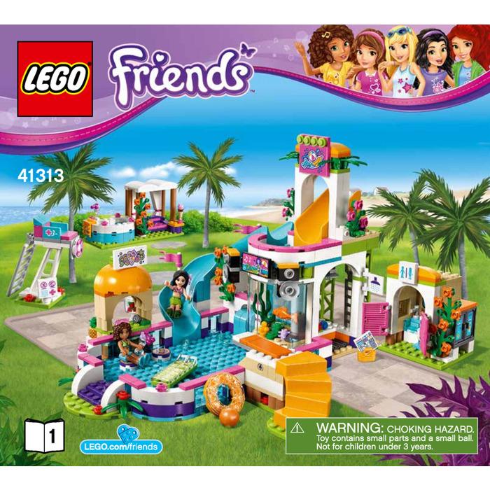 Lego Heartlake Summer Pool Set 41313 Instructions Brick