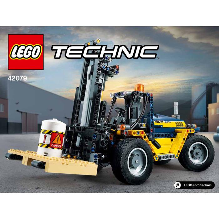 Lego Heavy Duty Forklift Set 42079 Instructions Brick Owl Lego