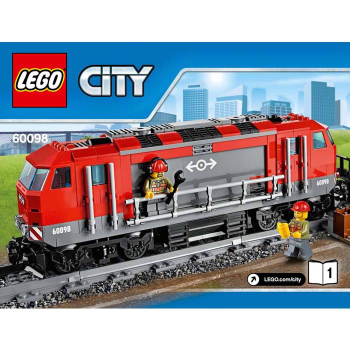 Lego Heavy Haul Train Set 60098 Instructions Brick Owl Lego