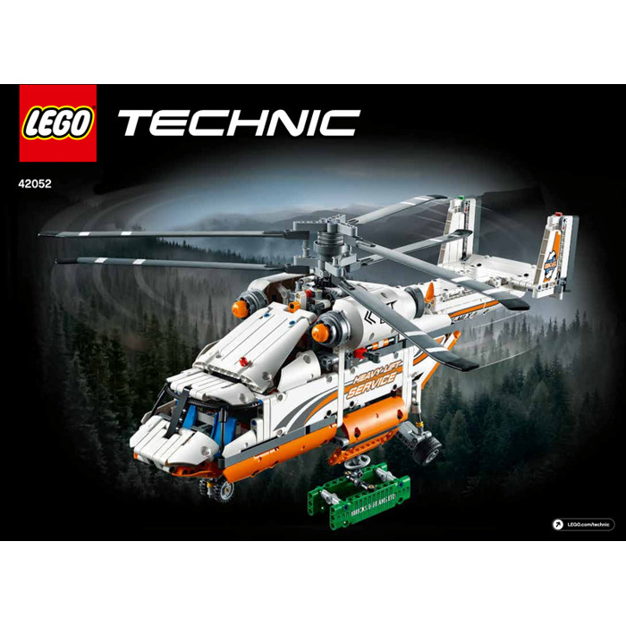 LEGO Heavy Lift Helicopter Set 42052 Instructions