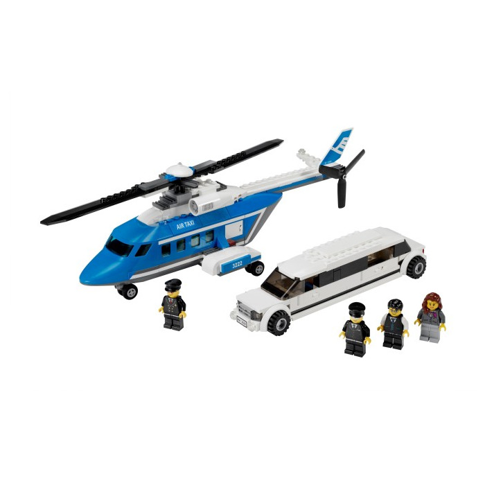 Lego Helicopter And Limousine Set 3222 Brick Owl Lego Marketplace