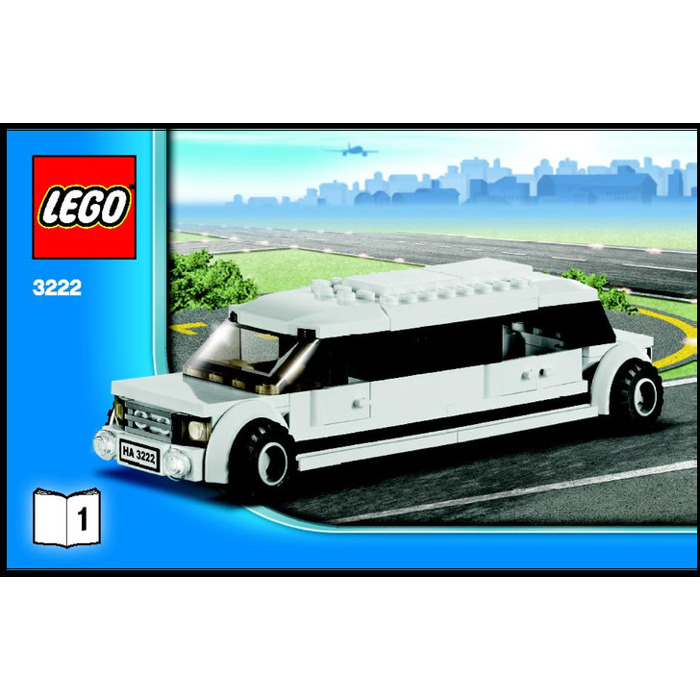 Lego Helicopter And Limousine Set 3222 Instructions Brick Owl
