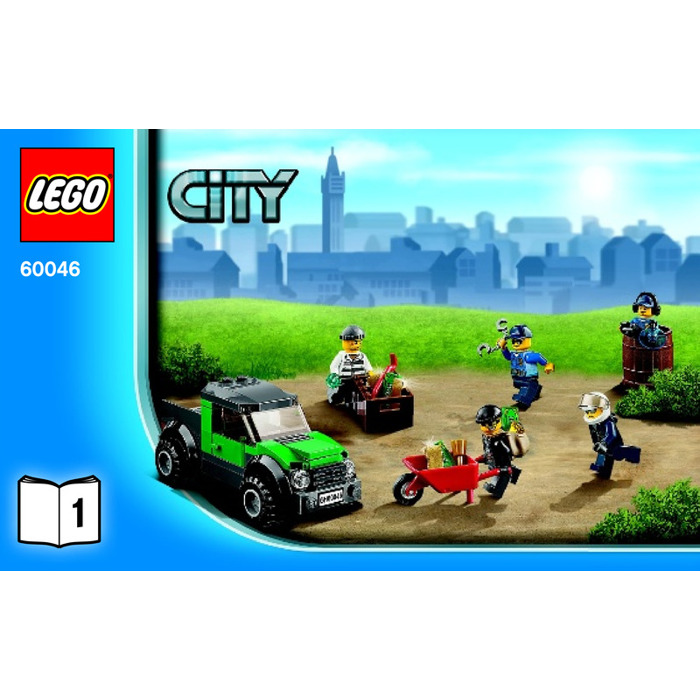 Lego City Police Helicopter Instructions
