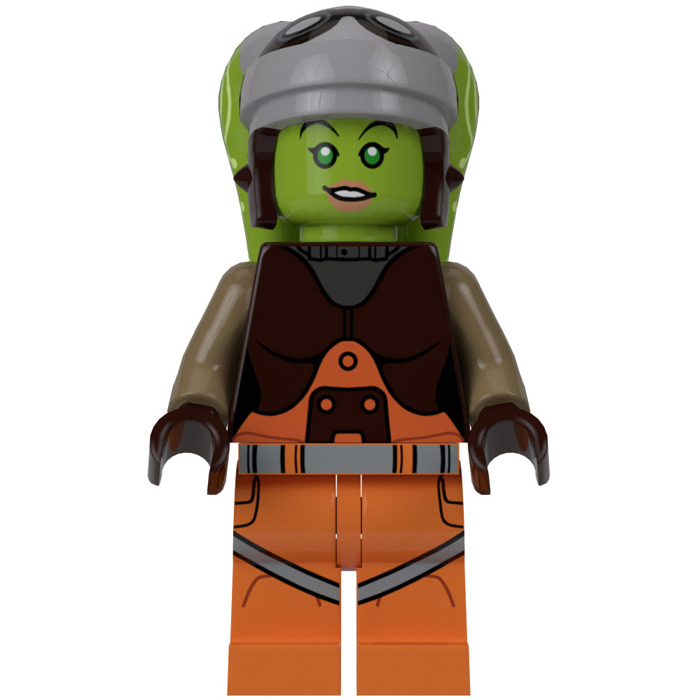 LEGO Hera Syndulla Minifigure Comes In   Brick Owl - LEGO ...  LEGO Hera Syndu...