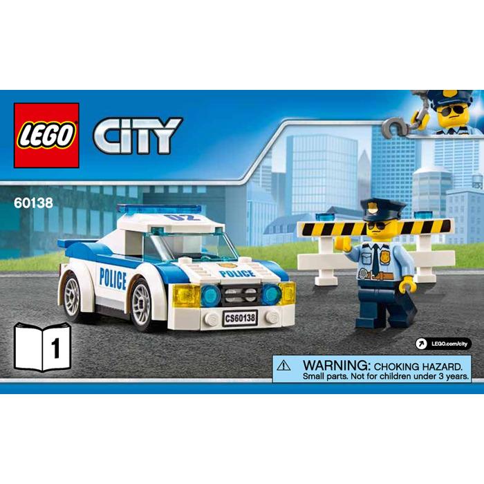 Lego High Speed Chase Set 60138 Instructions Brick Owl Lego