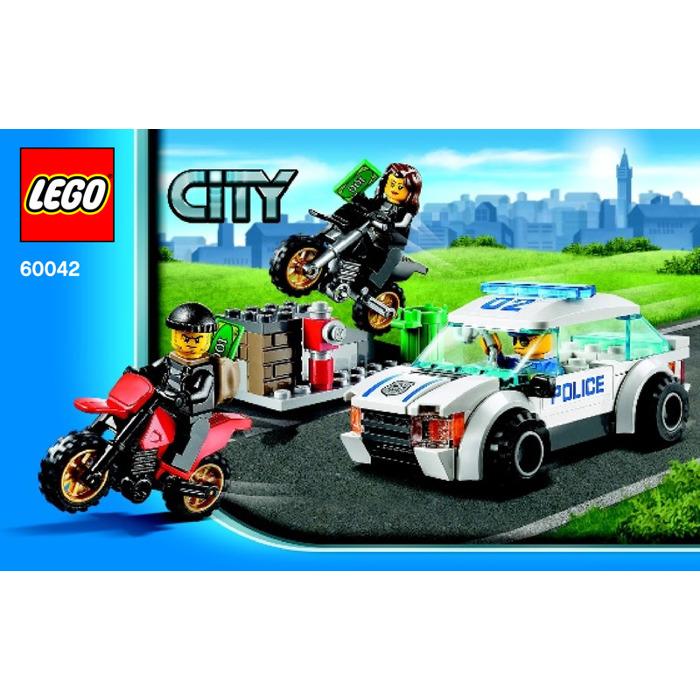 Lego High Speed Police Chase Set 60042 Instructions Brick Owl