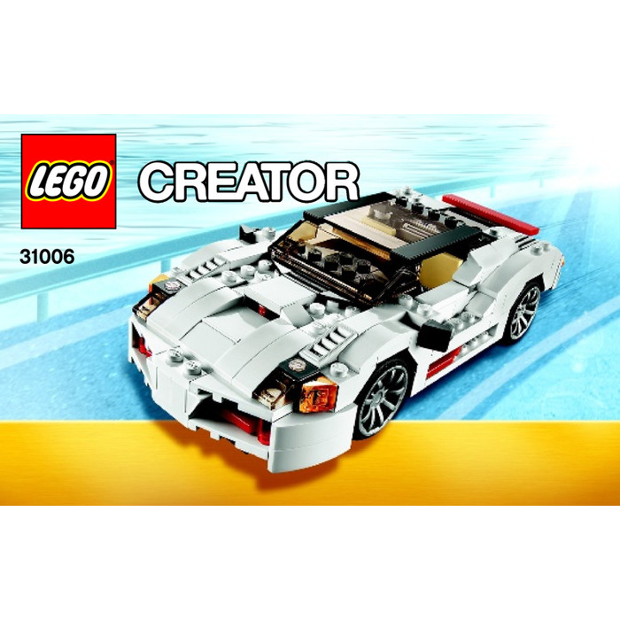 LEGO Highway Speedster Set 31006 Instructions
