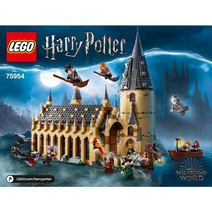 Lego Hogwarts Great Hall Set 75954 Instructions Brick Owl Lego