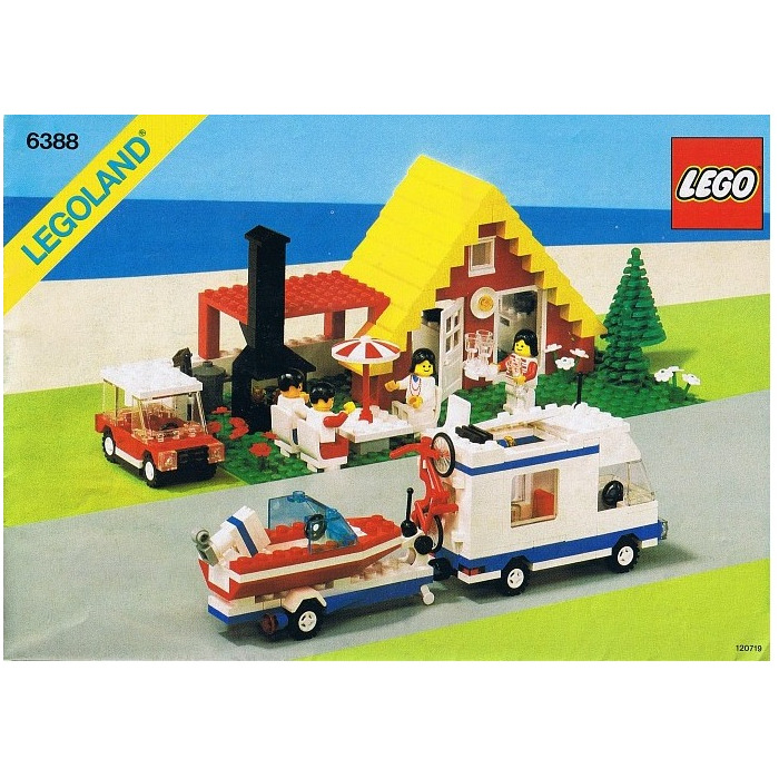 Lego Holiday Home With Campervan Set 6388 Instructions Brick Owl