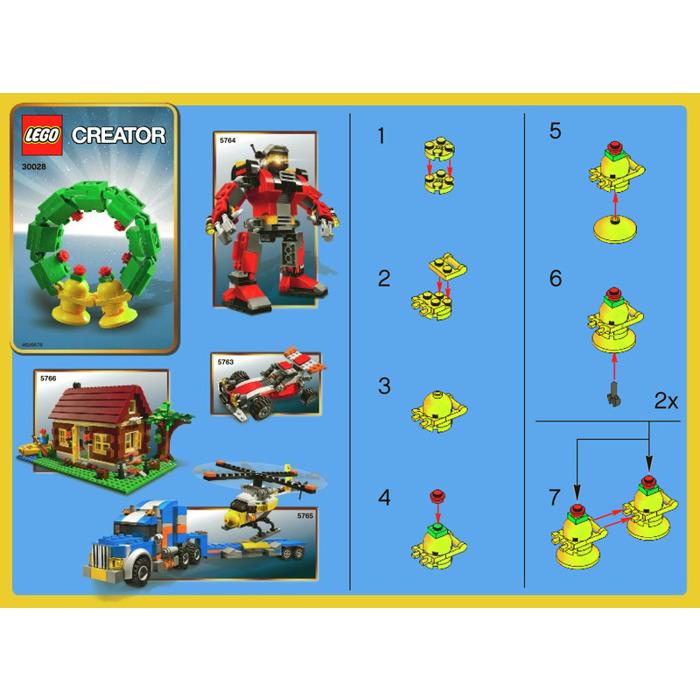 Lego lego holiday set instructions 40009, seasonal.