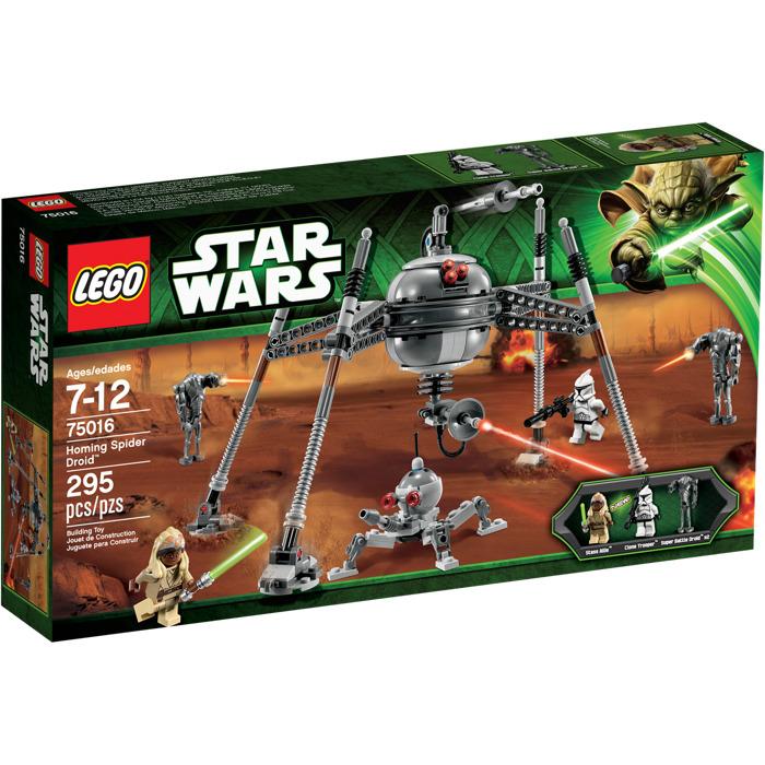 lego star wars homing spider droid set 75016 new in box ebay. Black Bedroom Furniture Sets. Home Design Ideas