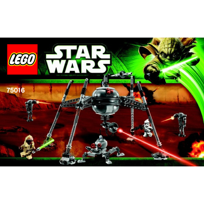 Lego Homing Spider Droid Set 75016 Instructions Brick Owl Lego