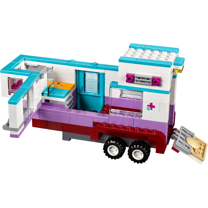 lego friends vet trailer instructions