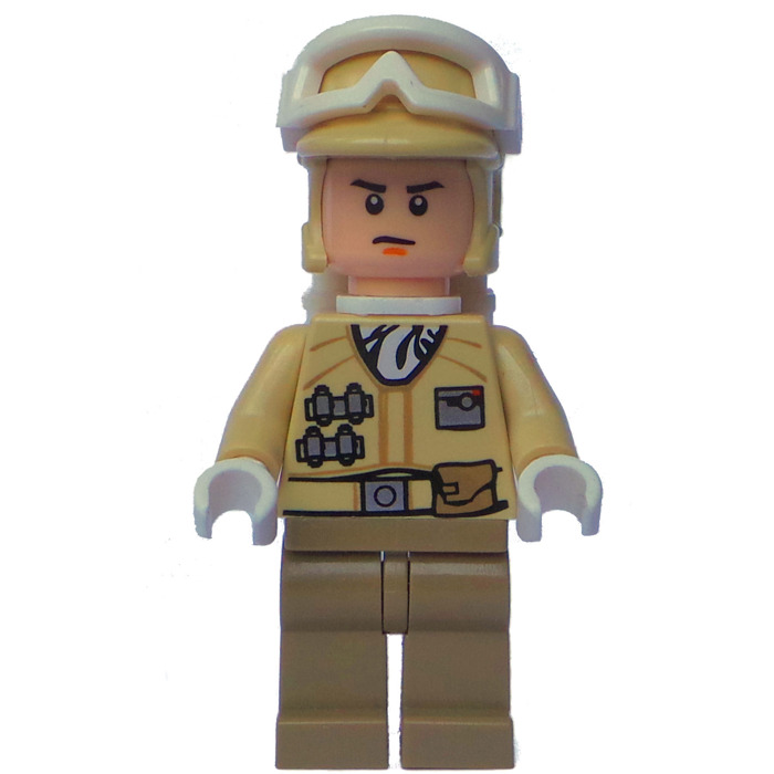lego hoth rebel trooper minifigure brick owl lego