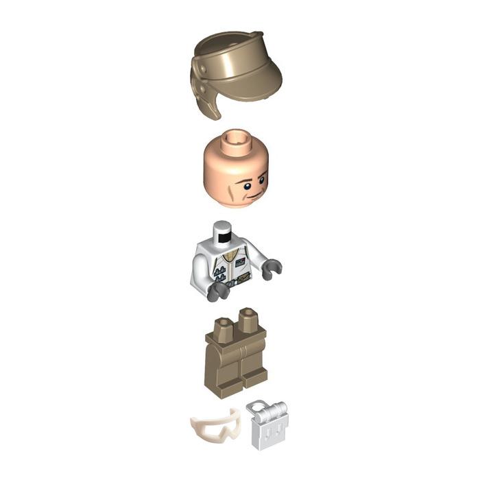 LEGO 46304 Minifigure Visor Snow Goggles Star Wars x2